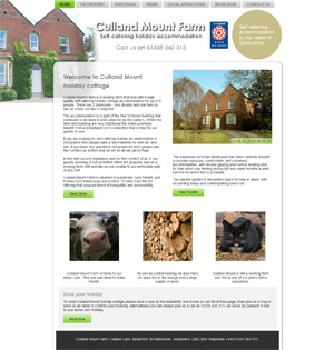 holiday cottage rental website